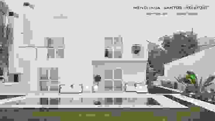 Residencia Colina da Asseca Casas modernas por Mendonça Santos Arquitetos & Associados Moderno