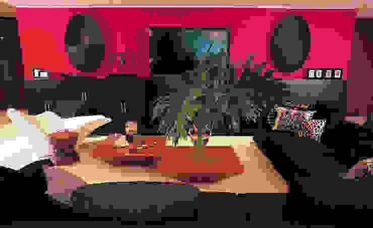 Modern Living Room by Olivia Aldrete Haas Modern