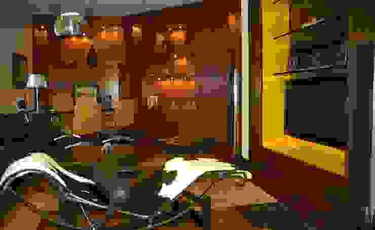 Ruang Keluarga Modern Oleh Olivia Aldrete Haas Modern