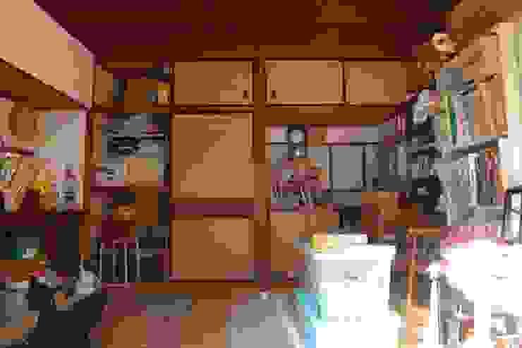 改装前の室内: hamanakadesignstudioが手掛けた折衷的なです。,オリジナル