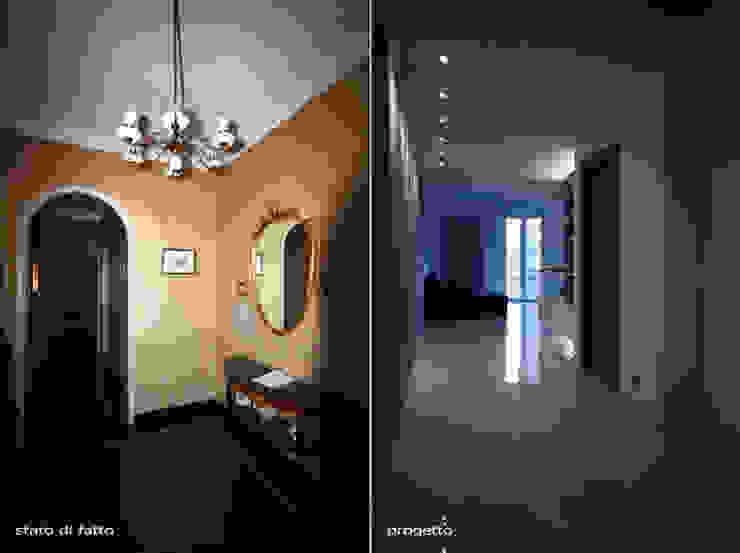 CASA D&F Ingresso, Corridoio & Scale in stile moderno di Andrea Orioli Moderno