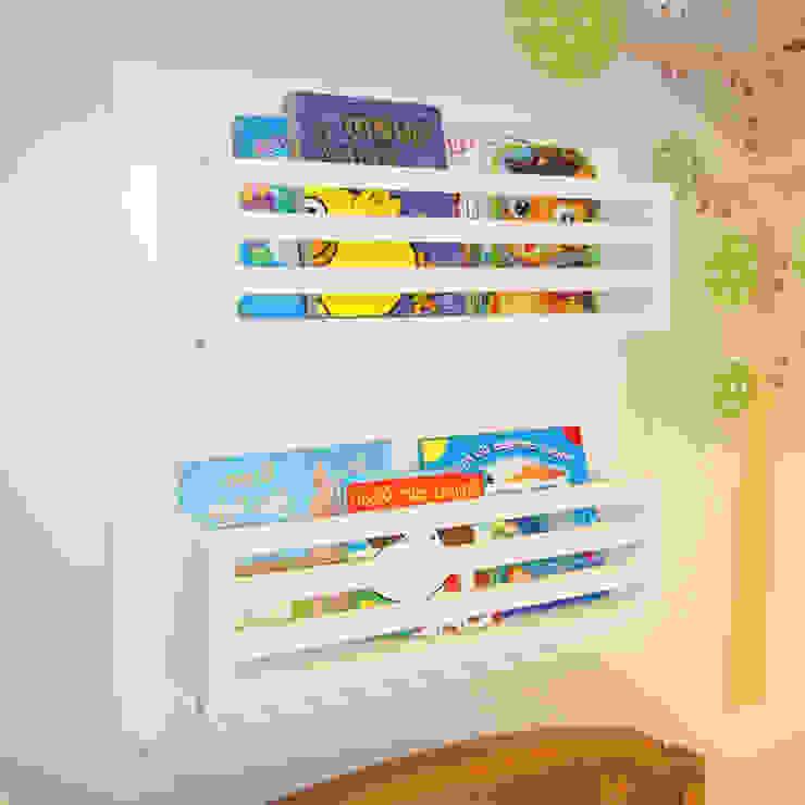 Prateleira de Livros Infantil por INTERCASA MÓVEIS INFANTIS E JUVENIS Moderno Madeira Efeito de madeira