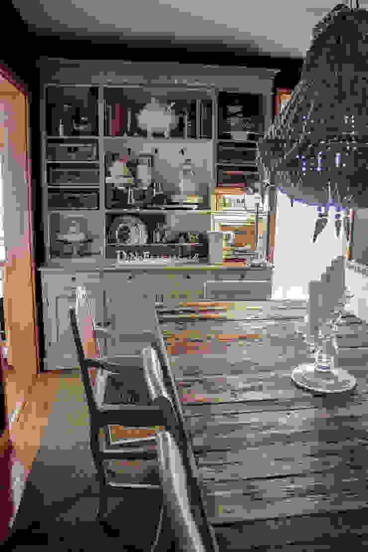 Gavetão- Decoração de Interiores Rustic style dining room