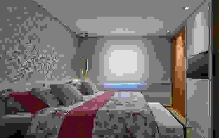 Chambre moderne par Isabela Canaan Arquitetos e Associados Moderne