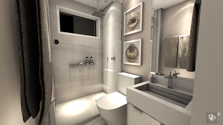 Bathroom by Gustavo Bodini | Designer de Interiores,