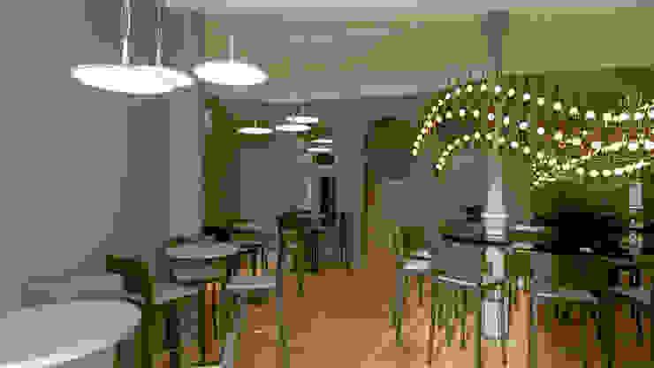 Projecto Bar /Restaurante Espaços de restauração modernos por Lendas e Detalhes, Lda Moderno