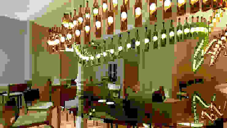Projecto Bar / Restaurante Espaços de restauração modernos por Lendas e Detalhes, Lda Moderno