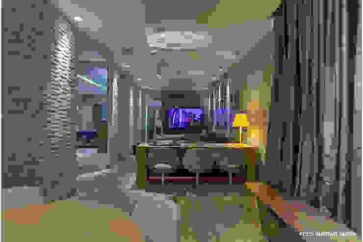 Estar Íntimo – Casa Cor 2010 Salas de estar modernas por MMMundim Arquitetura e Interiores Moderno