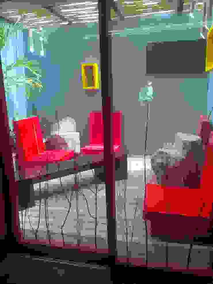 restaurante Balcones y terrazas eclécticos de bello diseño! Ecléctico
