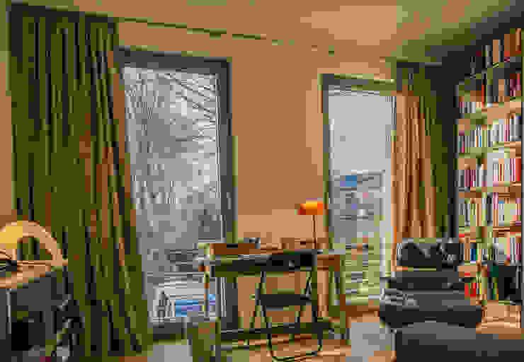 Dekoration Arbeitszimmer Minimalistische Arbeitszimmer von Frank Scheiter Wohnkonzepte Minimalistisch Textil Bernstein/Gold