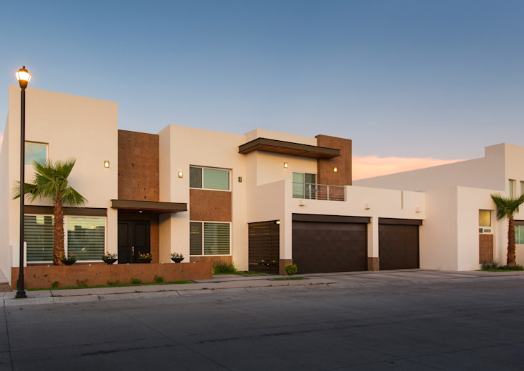 Maisons modernes par Grupo Arsciniest Moderne Pierre