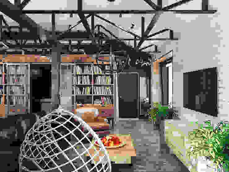 Industrial style office buildings by Хороший план Industrial