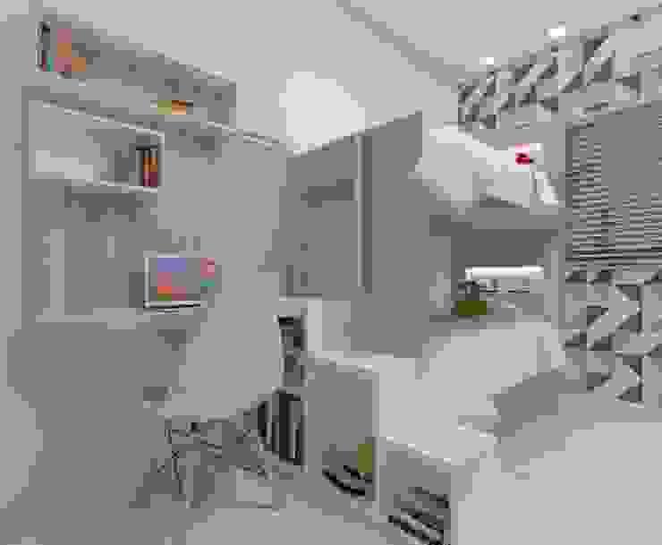 Dormitório Meninos Quartos industriais por Karoline Gesser Leal Interiores Industrial