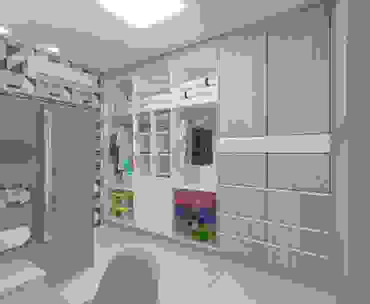 Interno Quarto infantil industrial por Karoline Gesser Leal Interiores Industrial