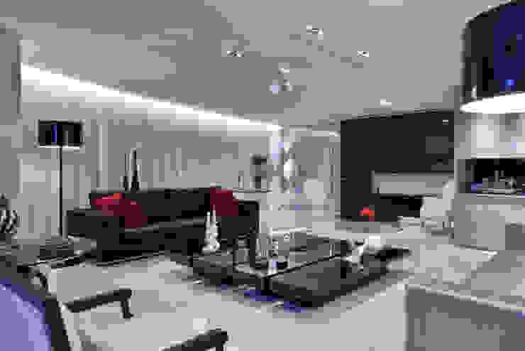 Apartamento P.P.N.R Salas de estar modernas por Bellini Arquitetura e Design Moderno