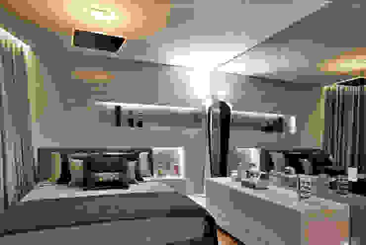 Apartamento P.P.N.R Quartos modernos por Bellini Arquitetura e Design Moderno