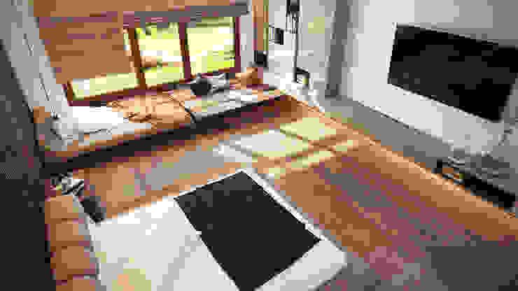 Chambre minimaliste par Artichok Design Minimaliste Bois Effet bois