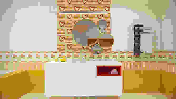 Загородный дом <q>Natürliche</q> Детская комнатa в стиле минимализм от Artichok Design Минимализм Керамика