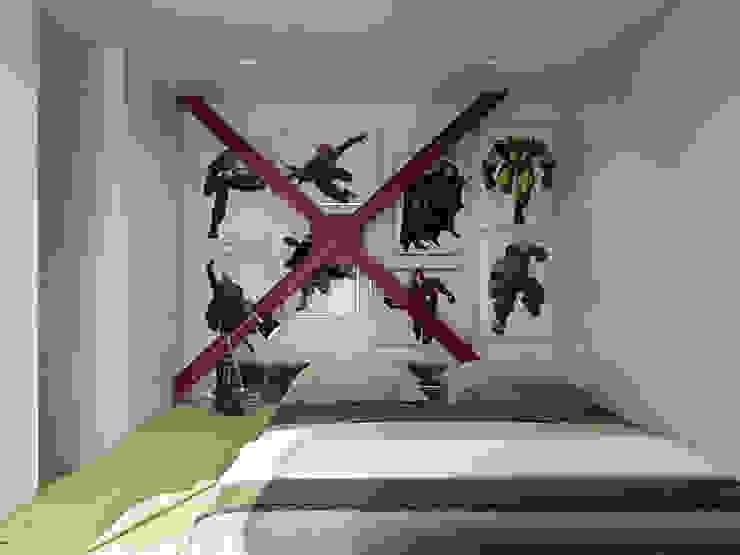 Скандинавский стиль Спальня в скандинавском стиле от Хороший план Скандинавский