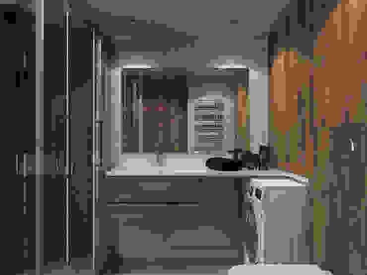 Скандинавский стиль Ванная комната в скандинавском стиле от Хороший план Скандинавский