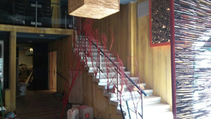 restaurant-bar en Acapulco Bares y clubs de estilo ecléctico de bello diseño! Ecléctico