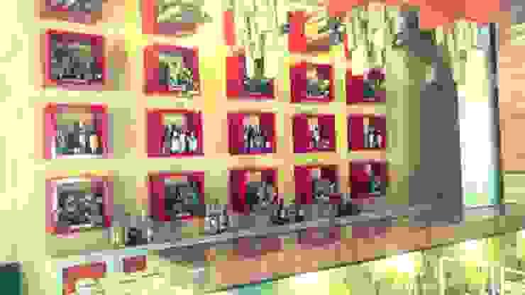 restaurant-bar en Acapulco: Bares y discotecas de estilo  por bello diseño!,