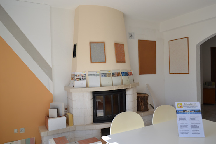 Showroom Salon original par RenoBuild Algarve Éclectique