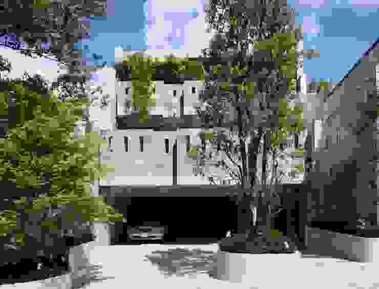 二段テラスの家 オリジナルな 家 の AMO設計事務所 オリジナル