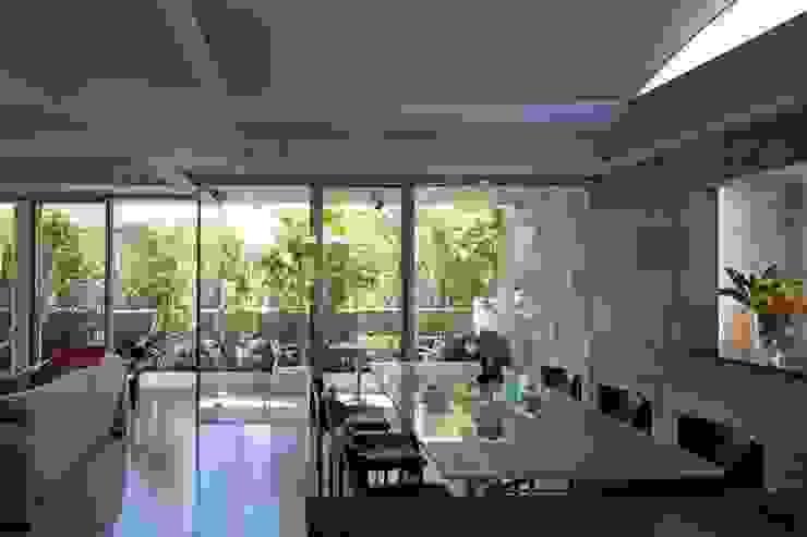 二段テラスの家 オリジナルデザインの ダイニング の AMO設計事務所 オリジナル