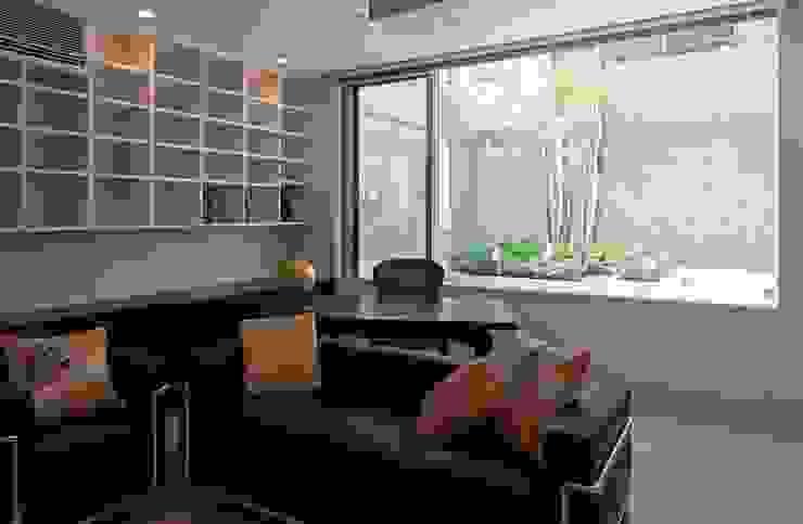 二段テラスの家 オリジナルデザインの 書斎 の AMO設計事務所 オリジナル