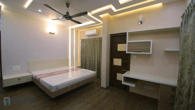 Bedroom false ceiling design Asian style bathroom by homify Asian