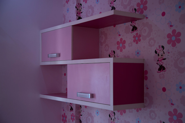 Kids bedroom storage cabinets Asian style bedroom by homify Asian