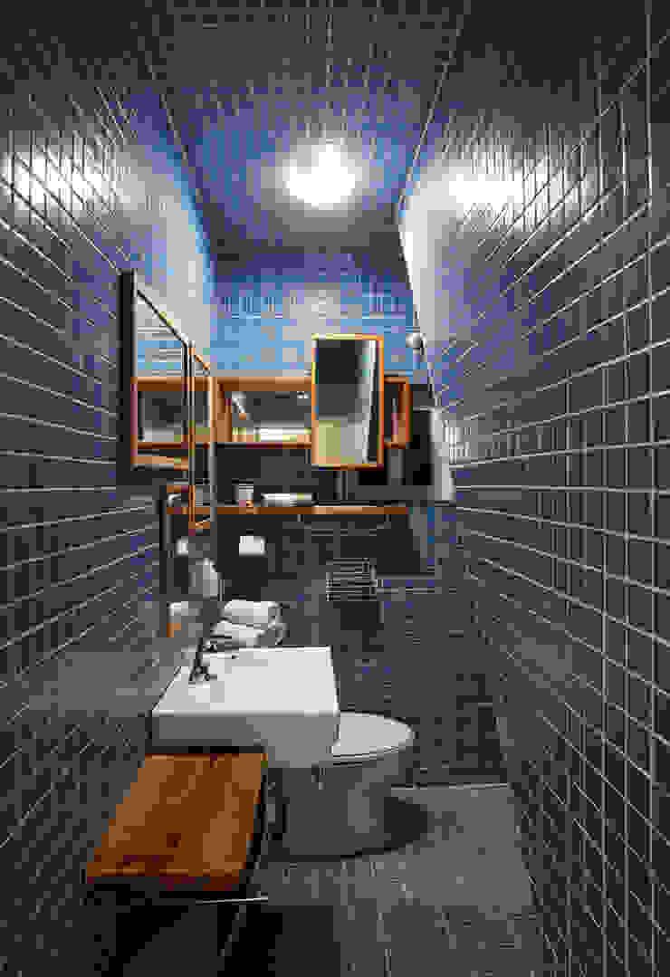 잉여주택 모던스타일 욕실 by designvom 모던