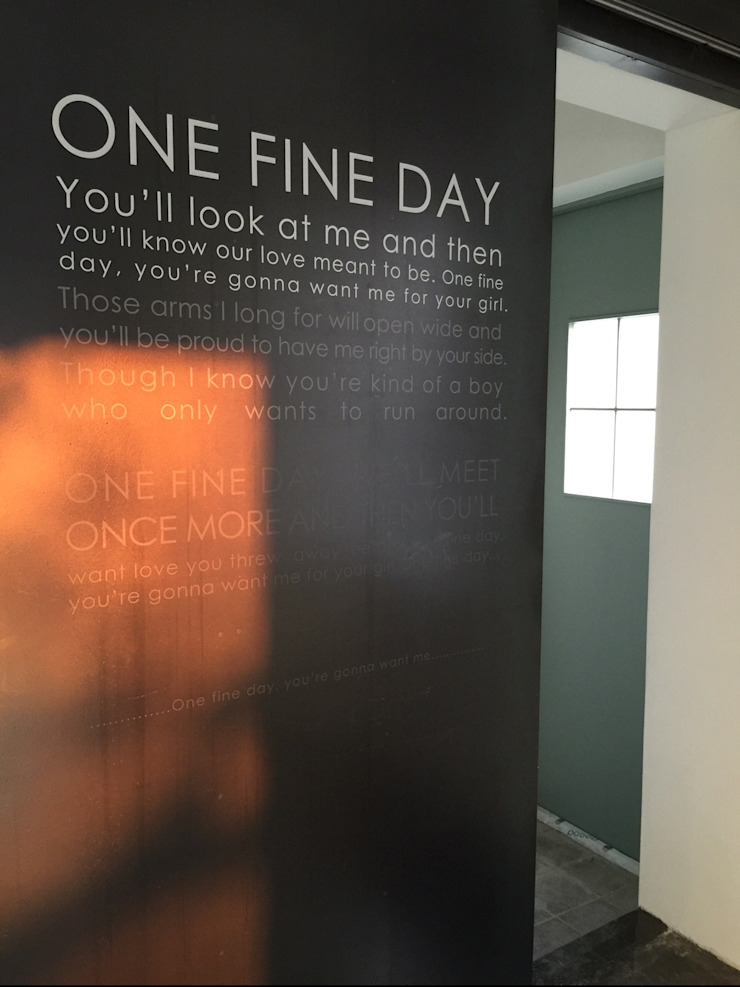 CAFE: One Fine Day 모던스타일 거실 by designvom 모던
