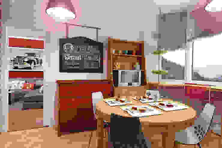 Квартира в Красногорске Кухня в стиле лофт от Алёна Демшинова Лофт МДФ