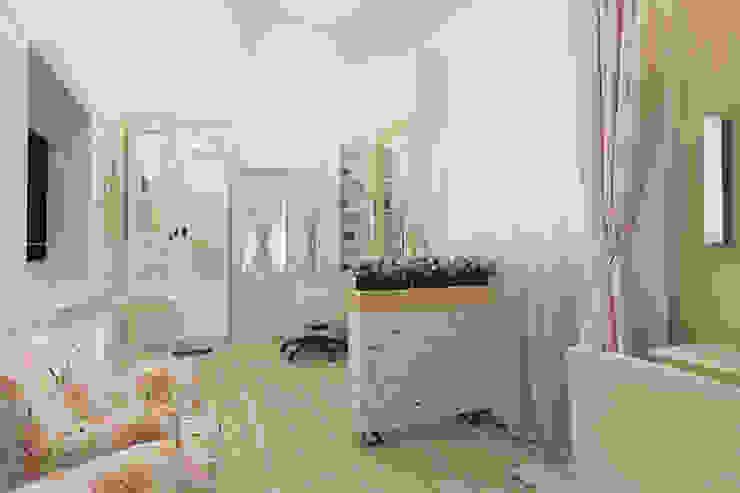Мини салон красоты в Ессентуках Рабочий кабинет в стиле кантри от Алёна Демшинова Кантри Керамика