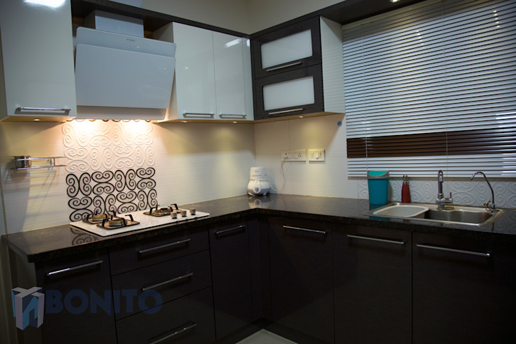 Modular kitchen backsplash design ideas homify Asian style kitchen