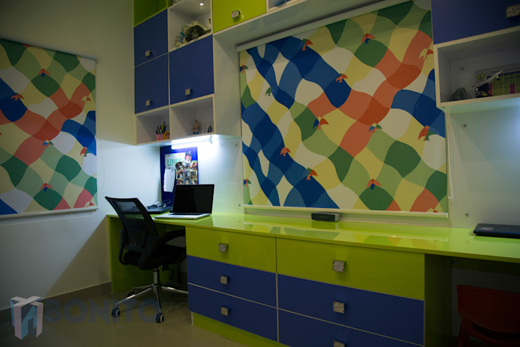 Study room design ideas Asian style study/office by homify Asian