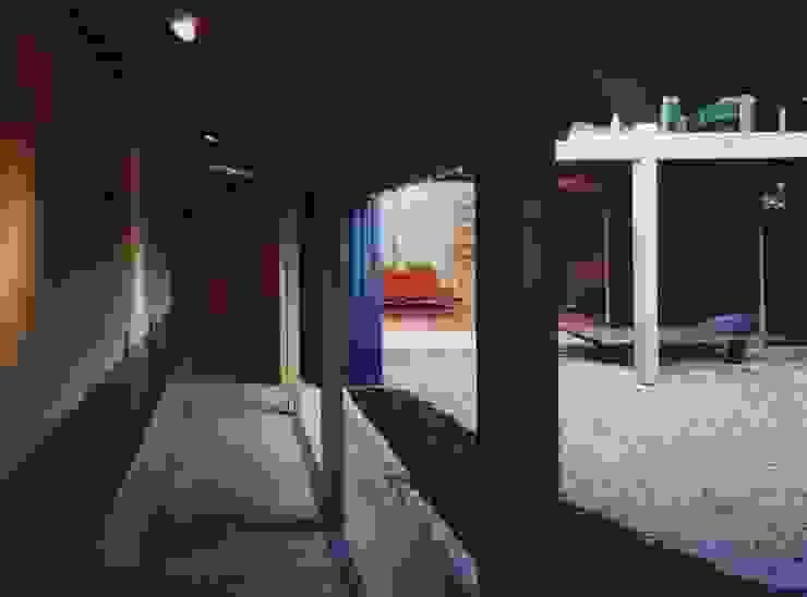 備前の家 モダンデザインの テラス の 伊東建築計画室 モダン