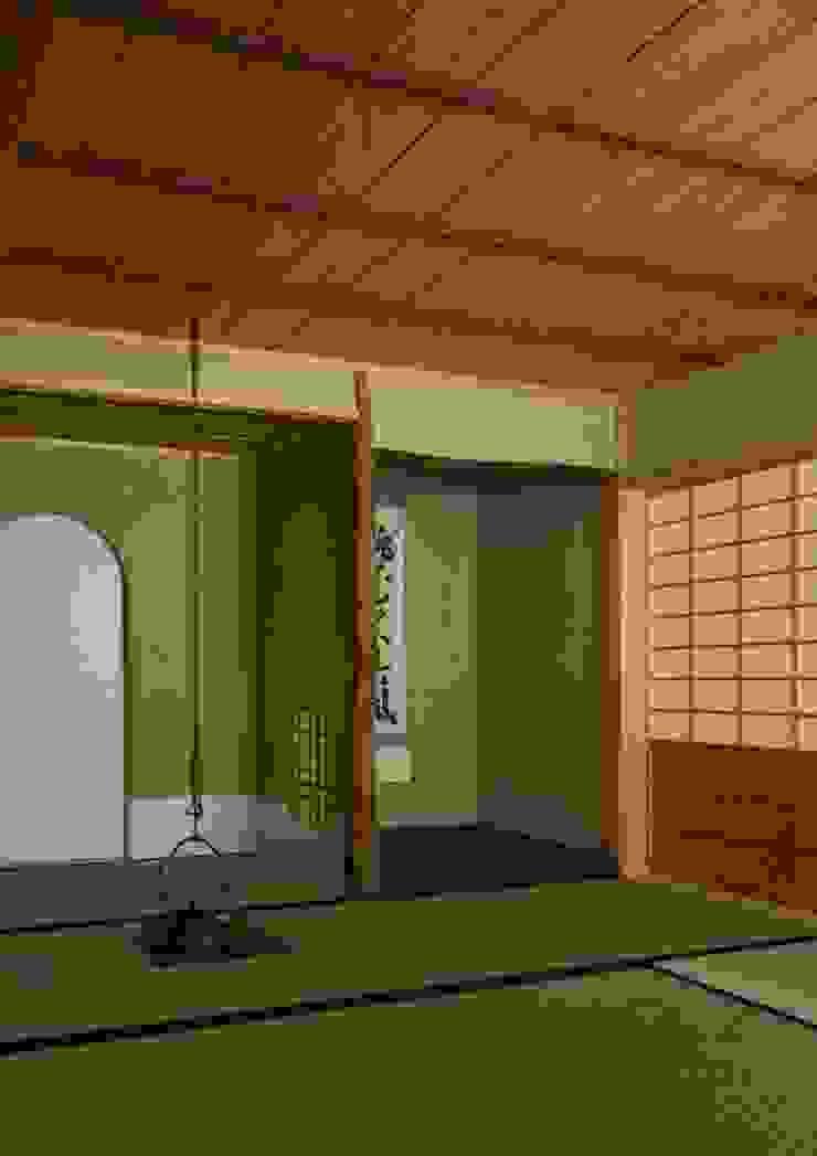 寺池台の家 モダンスタイルの 玄関&廊下&階段 の 伊東建築計画室 モダン
