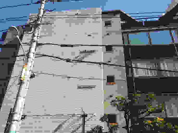 west elevation オリジナルな 家 の 伊藤邦明都市建築研究所 オリジナル レンガ