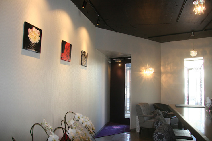 a restaurant-shala pearl- オリジナルデザインの ダイニング の 伊藤邦明都市建築研究所 オリジナル