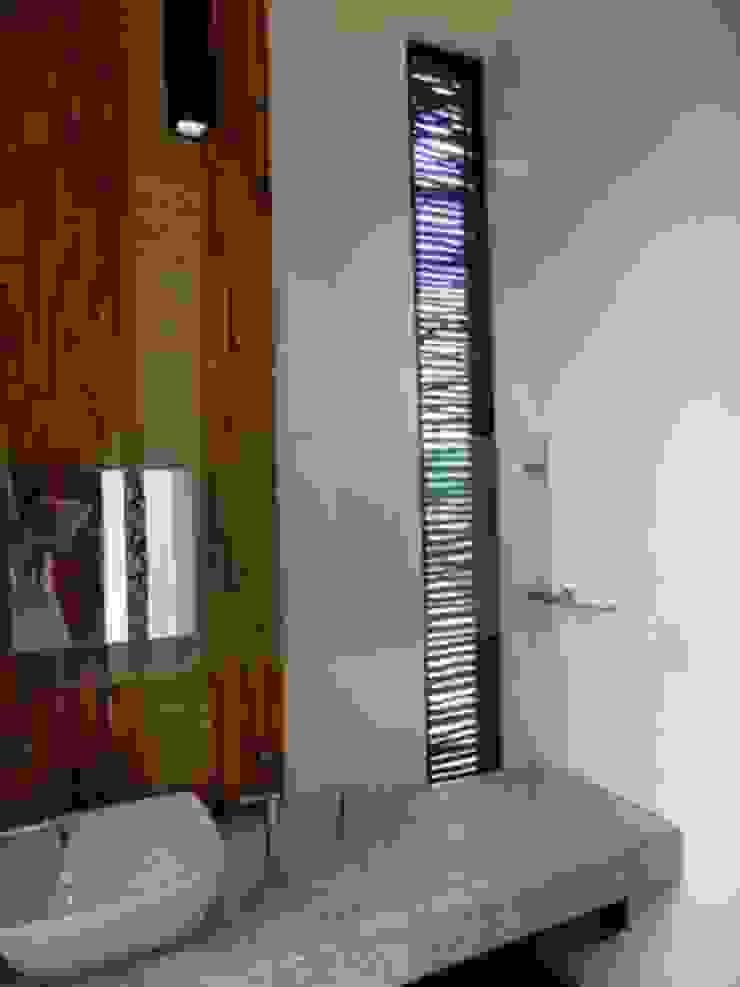 ventilacion de baño Baños eclécticos de bello diseño! Ecléctico