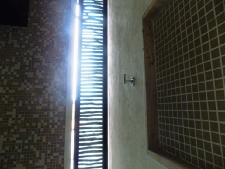 ventilacion de regadera Baños eclécticos de bello diseño! Ecléctico