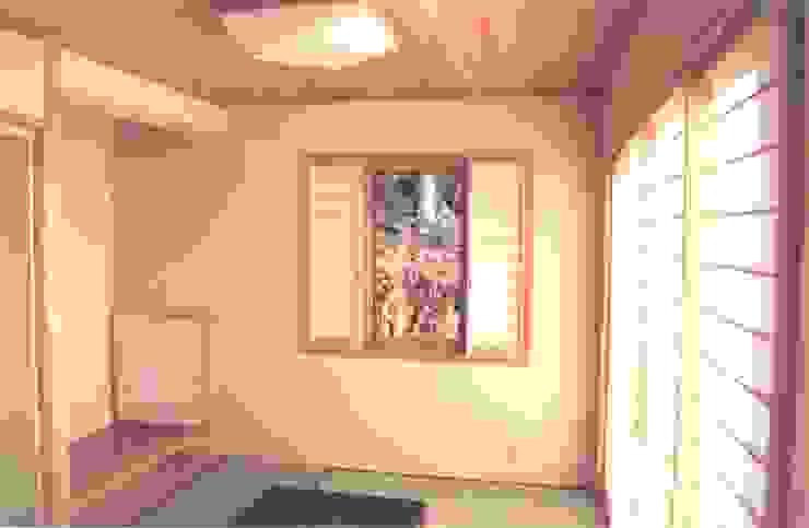 和室の引き分け障子 アジア・和風の 窓&ドア の (有)岳建築設計 和風