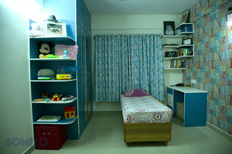 Kids bedroom storage ideas Asian style bedroom by homify Asian