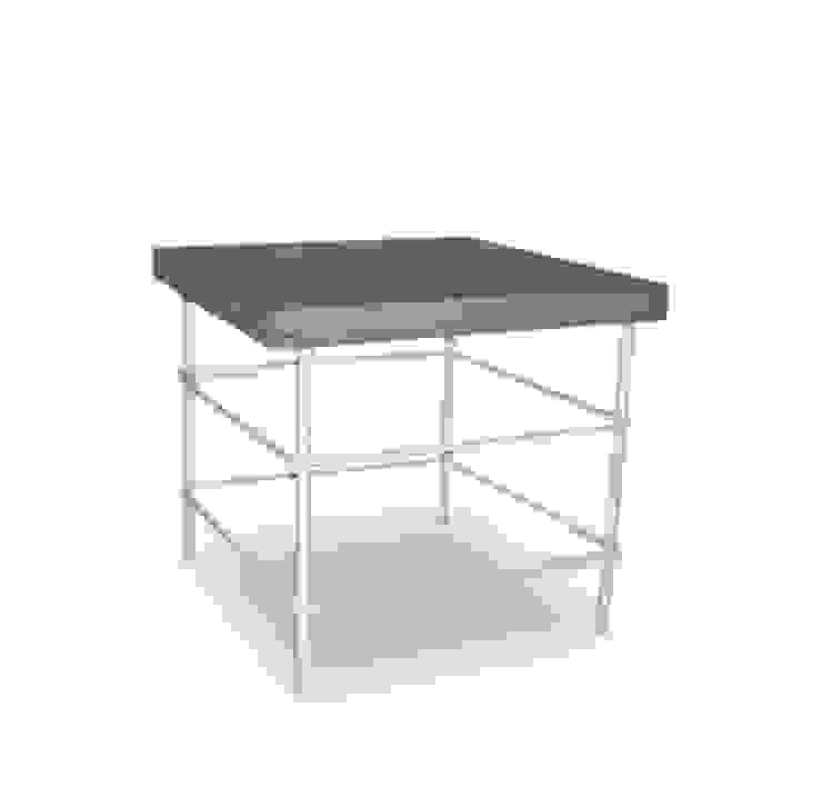 Bob Table:  industrial por Studio Verissimo,Industrial Ferro/Aço