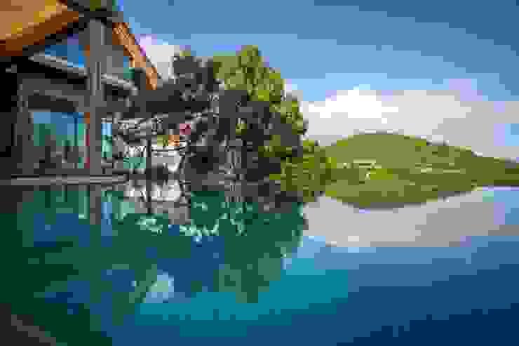 Банный дом Бассейны в эклектичном стиле от Pavelchik Design Эклектичный