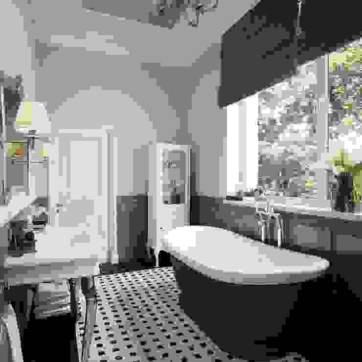 Bath room Ванная в классическом стиле от Sergey Artiomov Классический Плитка