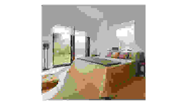 Mediterrane slaapkamers van Alejandro Giménez Architects Mediterraan